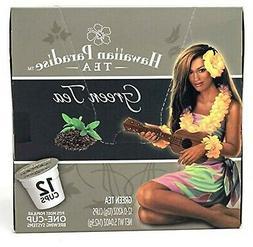 Hawaiian Paradise Green Tea {12 K Cups} Moderate Caffeine Fo
