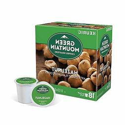 Green Mountain Hazelnut Coffee 18 to 108 Count Keurig K cups
