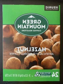 Green Mountain Hazelnut Coffee Keurig K cups 24pods expired