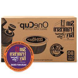 San Francisco Bay Hazelnut Creme Coffee 80 K-Cups