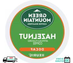 Green Mountain Hazelnut DECAF Keurig Coffee K-cups YOU PICK