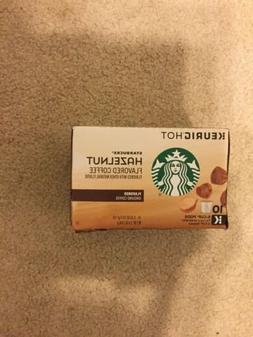 Starbucks Hazelnut Flavored Coffee K Cups 10ct Keurig best b
