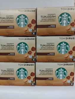 Starbucks Hazelnut Signature Collection Keurig Hot K Cups 60