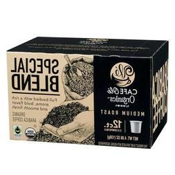 HEB Cafe Ole Organics Medium Roast single 144 k-cups Count-C