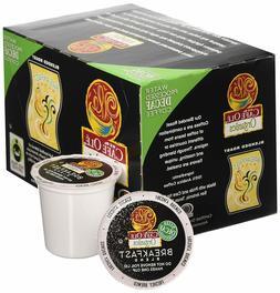HEB Cafe Ole Organic Breakfast Blend Decaf 144 K Cups read b