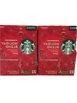 Starbucks Holiday Blend 2019 K Cups 5/2020