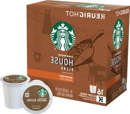 Starbucks House Blend Coffee 16 to 64 Count Keurig K cups Pi
