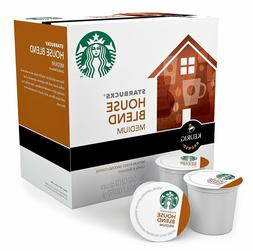 Starbucks House Blend Coffee 24 to 120 Count Keurig K cups C