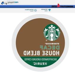 Starbucks House Blend Decaf Keurig Coffee K-cups
