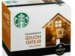 Starbucks House Blend Medium Roast Coffee K-Cups Keurig Hot