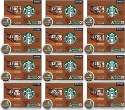 Starbucks House Blend Medium Roast  Box of 10 K Cups EXP 7/1