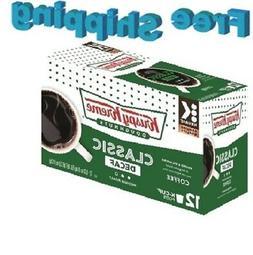 Krispy Kreme House Decaf Keurig K-Cups Coffee, 12 Count