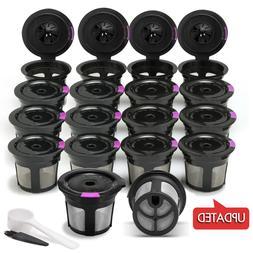 i Cafillas Refillable Reusable K-Cup Coffee Filter Pod for K