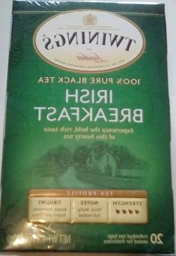 Twinings Irish Breakfast Black Tea, 20 Tea Bags