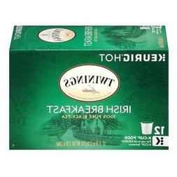 Twinings Irish Breakfast Keurig K-Cups, 12 Count