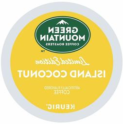 Green Mountain Island Coconut Coffee 24 to 144 Keurig K cups