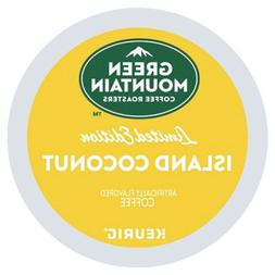 Green Mountain Island Coconut Coffee Keurig K-Cups - 18 Coun