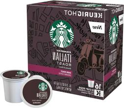 Starbucks Italian Roast Coffee 16 to 96 Count Keurig K cups