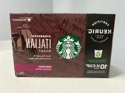Starbucks Italian Roast K-cups case of 6/10 count