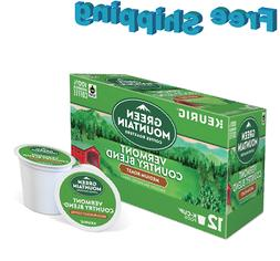 Green Mountain Coffee K-Cup, Vermont Country, 12-Count