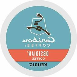 K-Cup 18-Count Caribou Coffee Obsidian Dark Roast Coffee for