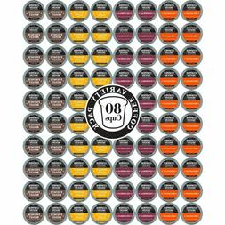 COPPER MOON COFFEE K-CUPS VARIETY PACK, 80 COUNT