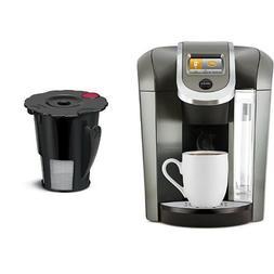 Keurig K575 Coffee Maker, Platinum and Keurig 119367 2.0 My