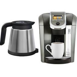 Keurig K575 Coffee Maker, Platinum and Keurig 119352 2.0 The