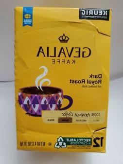 Gevalia Kaffe 100% Arabica Coffee Single Serve K-Cups Dark R