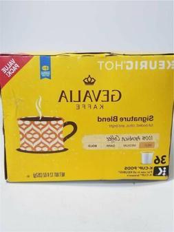 Gevalia Kaffe Coffee K-Cups, Mild Roast Signature Blend, 36-