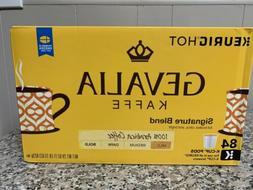 Gevalia Kaffe Signature Blend Coffee 84 K Cups New in Damage