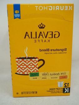 Gevalia Kaffe, K-Cup Single Serve Coffee, 12 Count, 4.12oz B