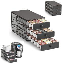 Nifty 3-tier Large Capacity Coffee Pod Storage Drawer for K-