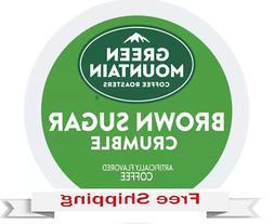 Keurig Green Mountain Brown Sugar Crumble Coffee K-cups 24 C