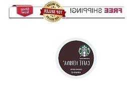 Keurig STARBUCKS Caffe Verona K-cups Coffee 24 or 96 count p