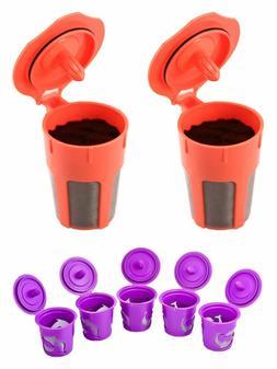Keurig 2.0 K-cups Reusable K cup Filter Pod Refillable K Car