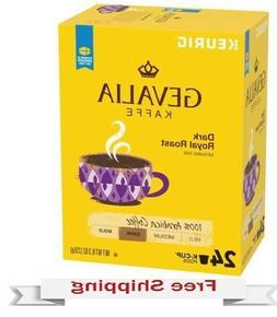 Keurig Gevalia Dark Royal Roast Coffee K-cups 24 Count
