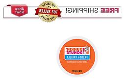 Keurig DUNKIN DONUTS French Vanilla K-cups Coffee 24 or 96 c