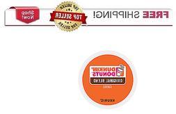 Keurig DUNKIN DONUTS Original Roast K-cups Coffee 24 or 96 c