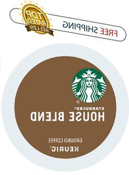 Keurig STARBUCKS House K-cups Coffee 24 or 96 count packs
