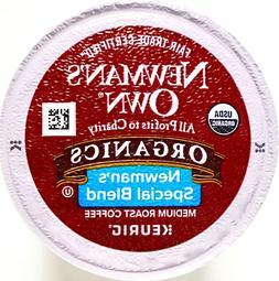 Newman's Own Coffee Organic Medium-Roast Extra-Bold, Keurig