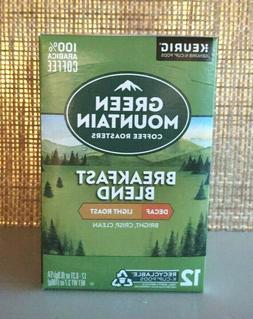 KEURIG K-CUPS Decaf Green Mountain Breakfast Blend Exp 10/21