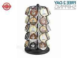 Keurig K Cups Holder 30 Coffee Pods Carousel Storage Rack