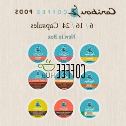 KEURIG Caribou Coffee K Cups 6 16 18 24 Count Pods Capsule l