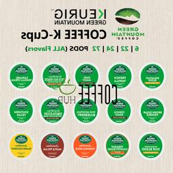 Green Mountain Coffee Pod K-Cups 6 22 24 72 Count Capsule lo