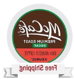 Keurig McCafe Premium Roast DECAF Coffee K-cups 24 Count