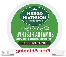 Keurig Green Mountain Single Origin Sumatra Reserve Coffee K