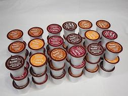 Keurig Single Serve Coffee Cups Sampler Variety Pack 100% Ar