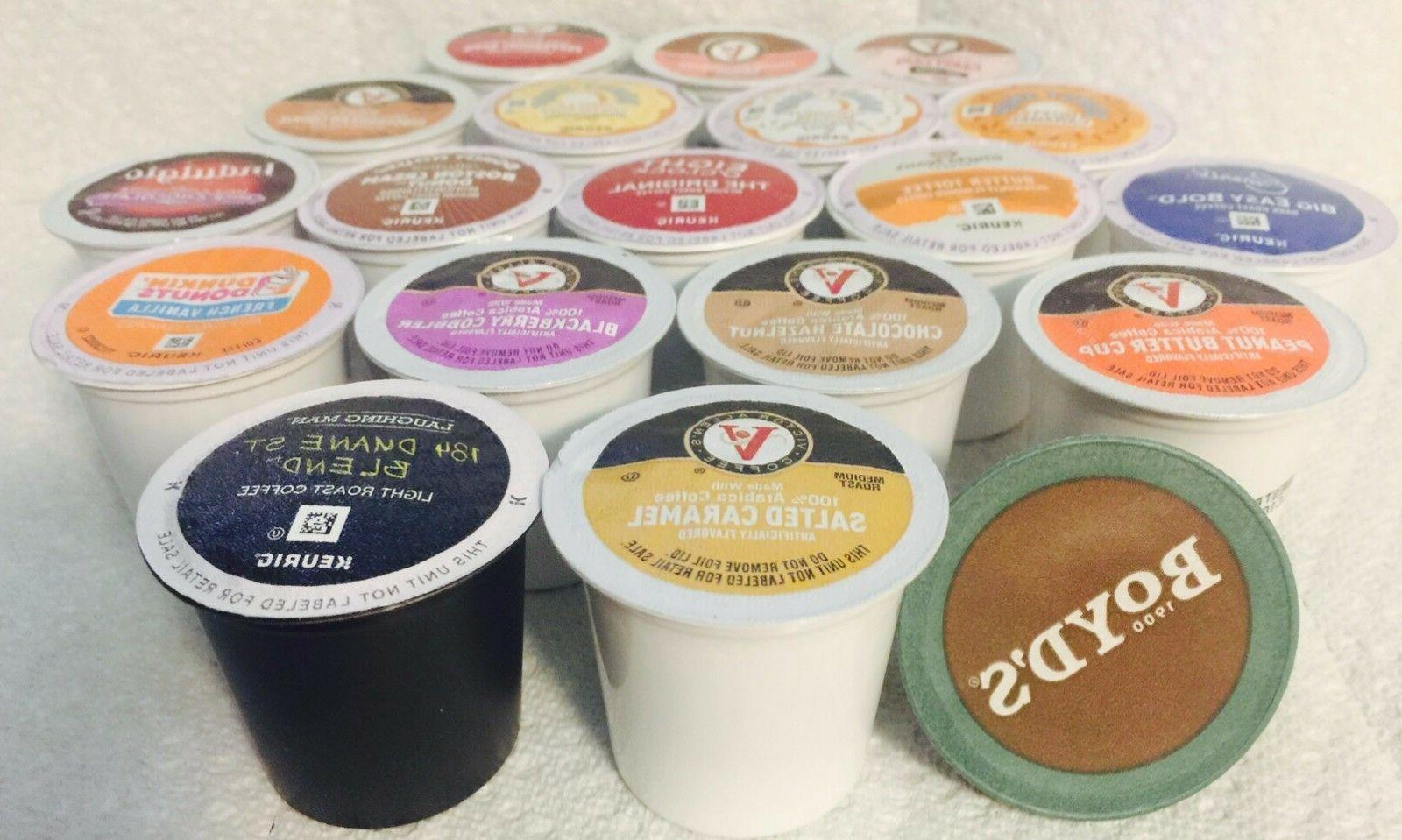 1 Keurig K-cup Variety of MANY FLAVORS to Choose Pick flavor