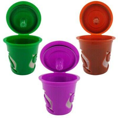 K-Cup Refillable Reusable K-cups Coffee Filter Pod Fits Keur